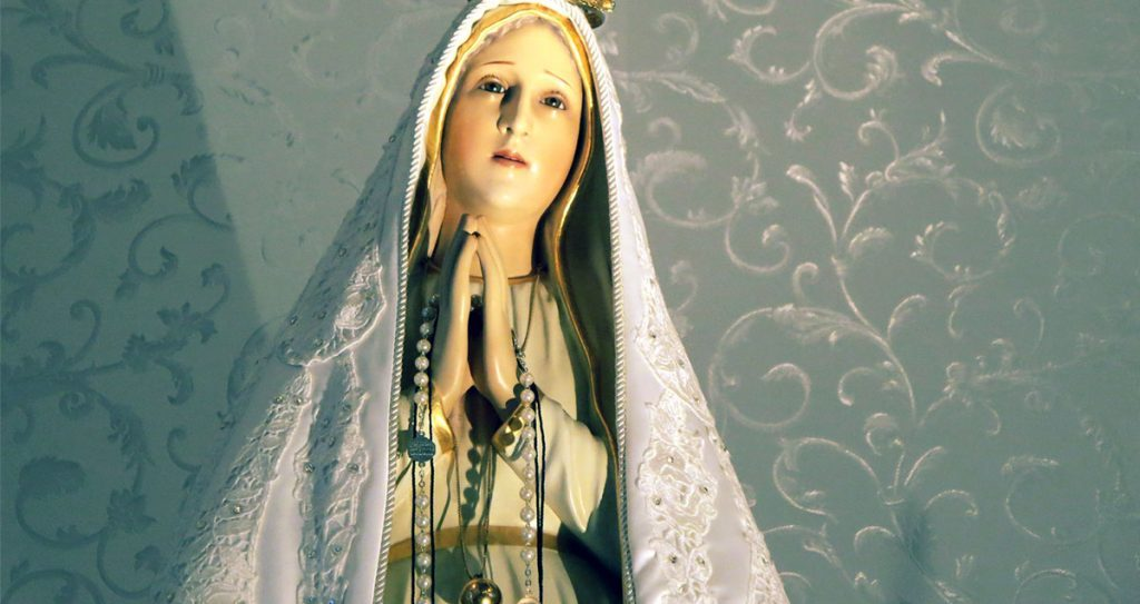 Pilgrim Image of Our Lady of Fatima